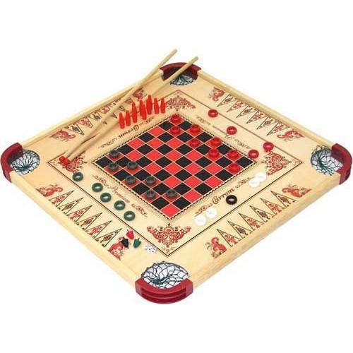 Reversible Multi-Game Board