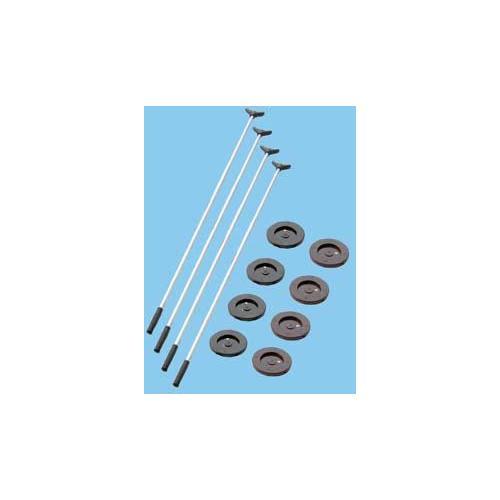 Aluminum Cue Shuffleboard Set