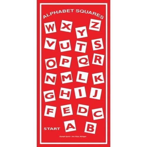 Alphabet Squares Mat