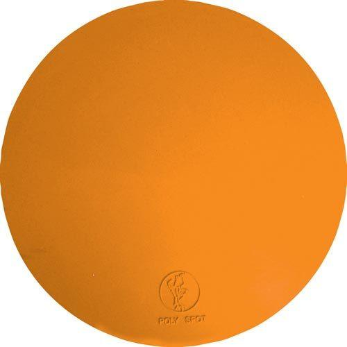 "9"" Poly Spots - Orange (Dozen)"