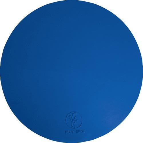 "9"" Poly Spots - Blue (Dozen)"