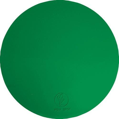 "9"" Poly Spots - Green (Dozen)"