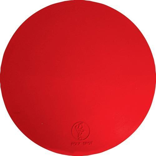 "9"" Poly Spots - Red (Dozen)"
