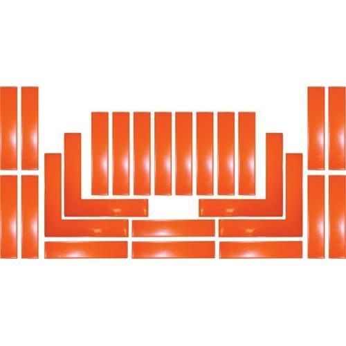 Boundary Markers - Orange (Set of 24)