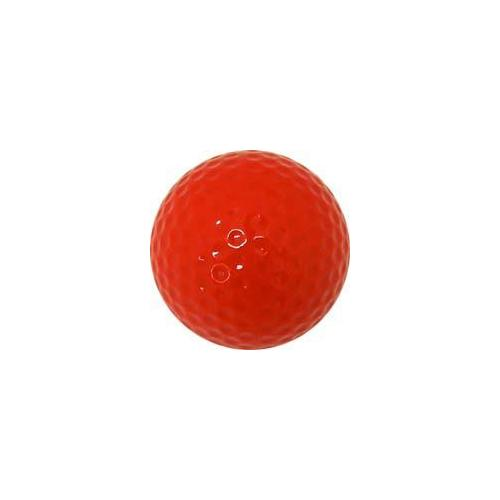 Colored Golf Balls - Red (Dozen)