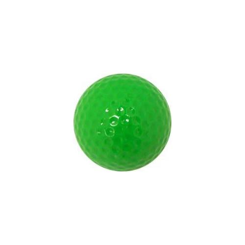 Colored Golf Balls - Green (Dozen)