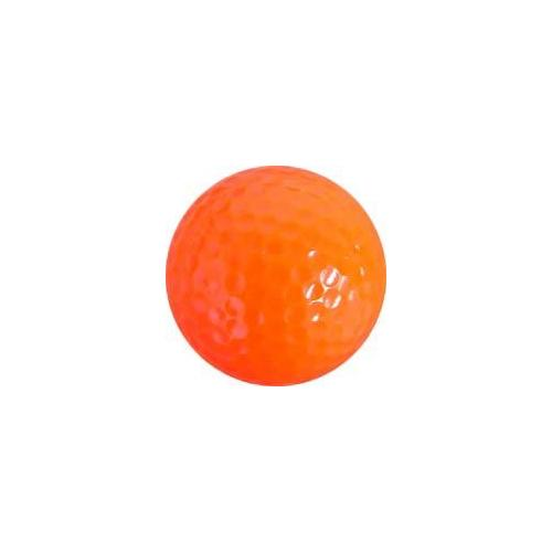 Colored Golf Balls - Orange (Dozen)