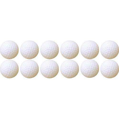 Hollow Plastic Golf Balls (Dozen)