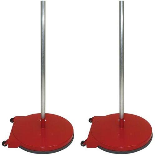 """Dome Base Game Standards with Wheels - 24""""  (Red)"""