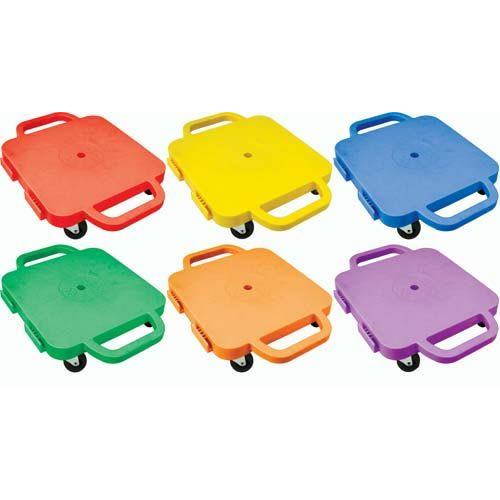 """Curved-Handle Connect-A-Scooters - 12"""" (Set of 6 Colors)"""