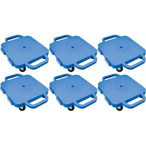 """Curved-Handle Connect-A-Scooters - 16"""" (Set of 6 Blue)"""