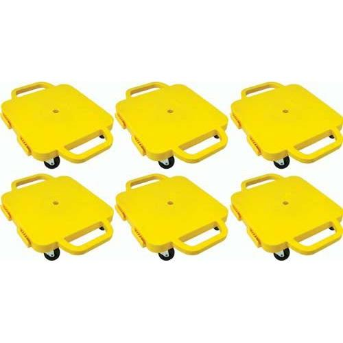 """Curved-Handle Connect-A-Scooters - 16"""" (Set of 6 Yellow)"""