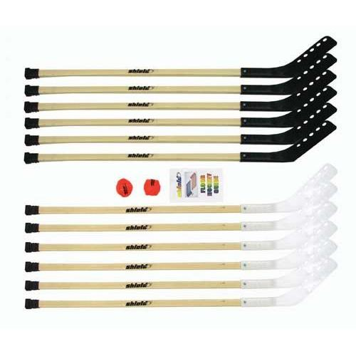 "42"" Wood Outdoor Hockey Set"