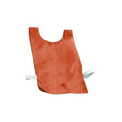 Nylon Plain Pinnies - Red