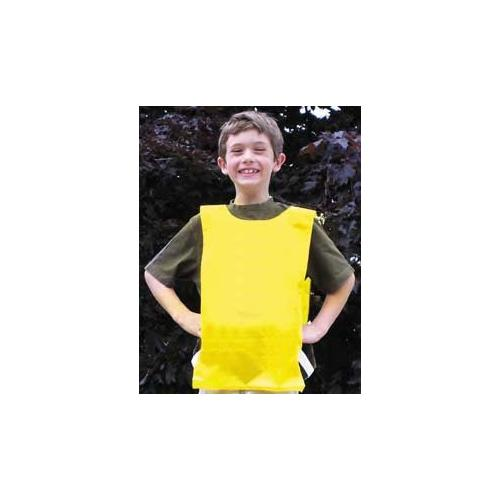 Nylon Plain Pinnies - Yellow