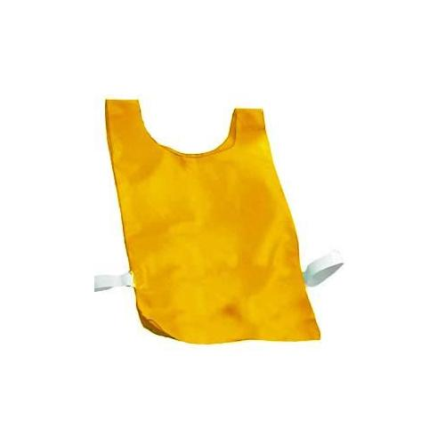 Nylon Plain Pinnies - Orange