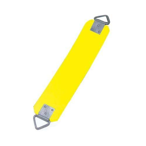 "5/16"" Vandal-Proof Rubber Swing Seat - Yellow"