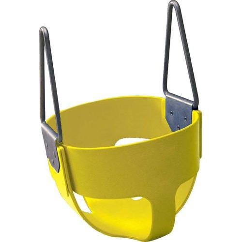 Rubber Enclosed Infant Swing Seat - Yellow