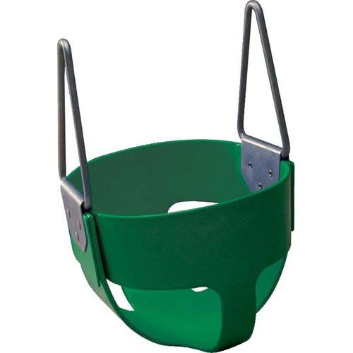 Rubber Enclosed Infant Swing Seat - Green