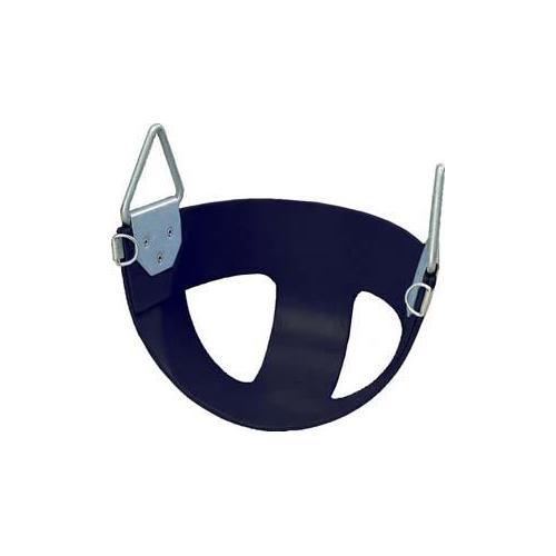 Bucket Rubber Swing Seat - Black