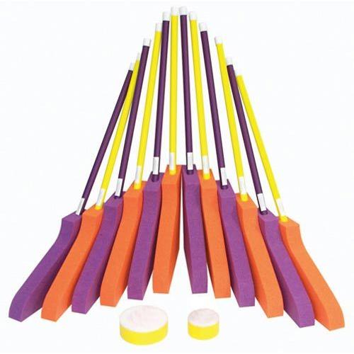 "Dura-Tuff Foam Hockey Set - 36"" Sticks"