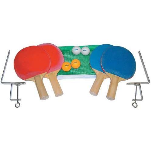 4-Player Table Tennis Set