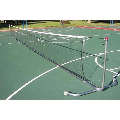 42' Heavy-Duty Portable Tennis Posts w/ Net