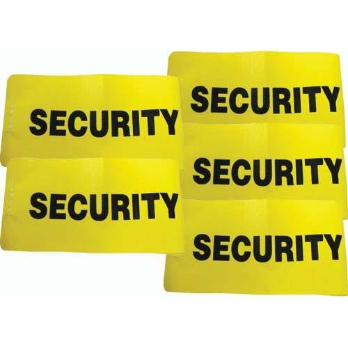 I.D. Armbands - Security (Set of 5)