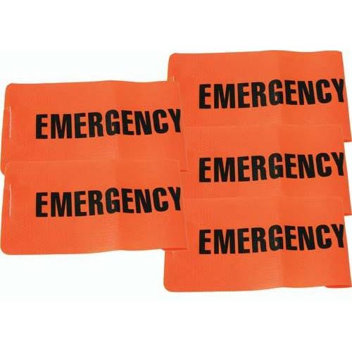 I.D. Armbands - Emergency (Set of 5)