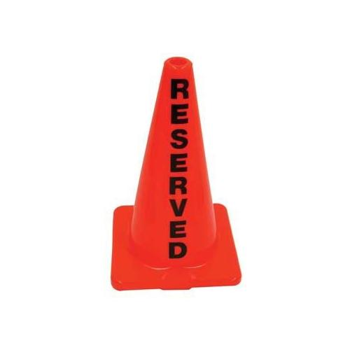 """18"""" Message Cone - Reserved"""