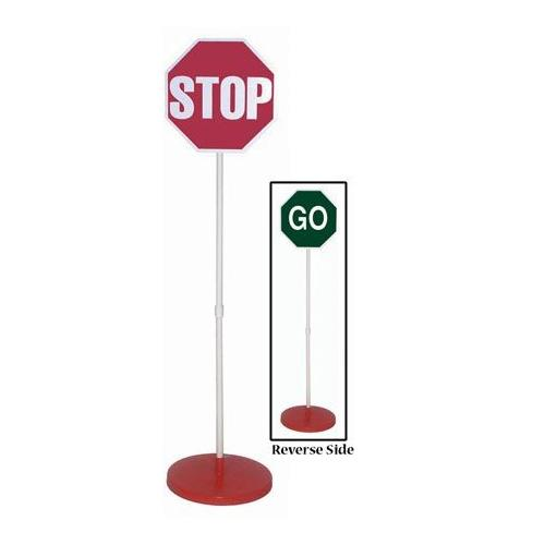 Stop/Go Sign & Base w/o Lights