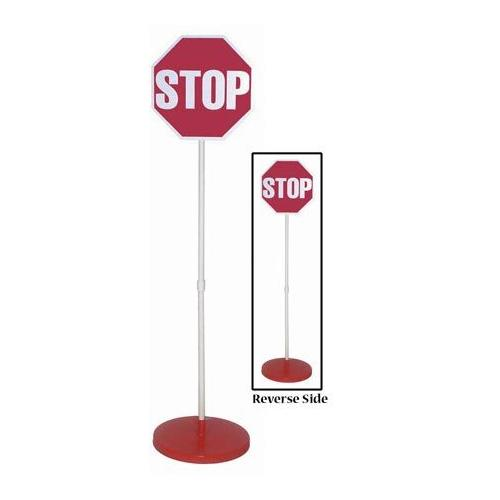 Stop/Stop Sign & Base w/o Lights