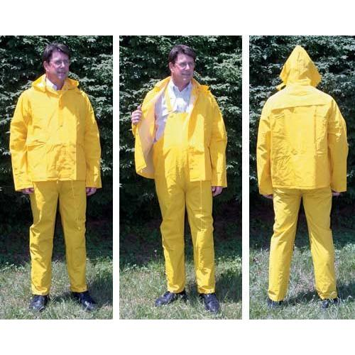 3-Piece Rain Suit - Large