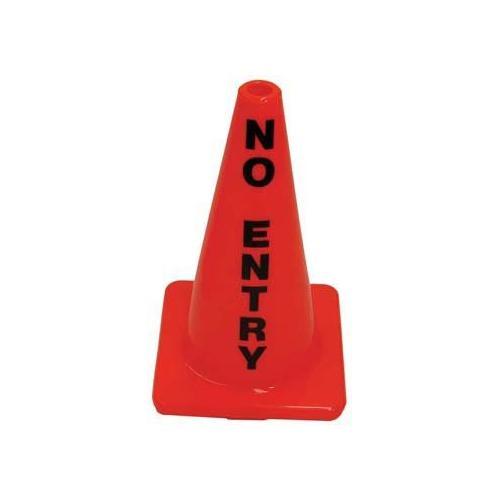"""18"""" Message Cone - No Entry"""