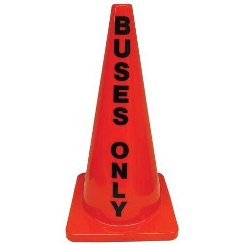 """28"""" Message Cone - Buses Only"""