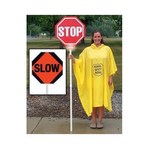 Stop/Slow Sign w/ Lights