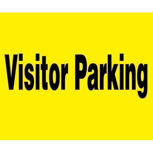 """24"""" x 18"""" Barricade Sign - No Parking"""