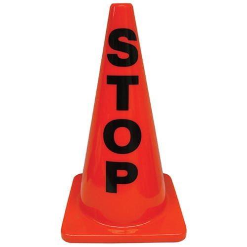 """18"""" Message Cones - Stop"""