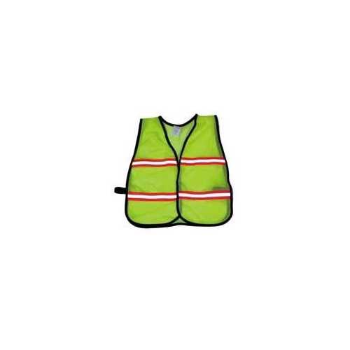 Economy Children's Mesh Vest - Lime (Medium)