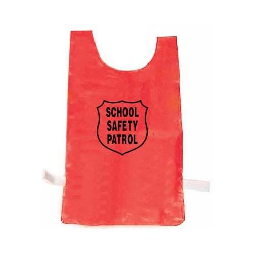 Nylon Pinnie (Red) w/ Safety Patrol Emblem