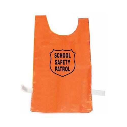 Nylon Pinnie (Orange) w/ Safety Patrol Emblem