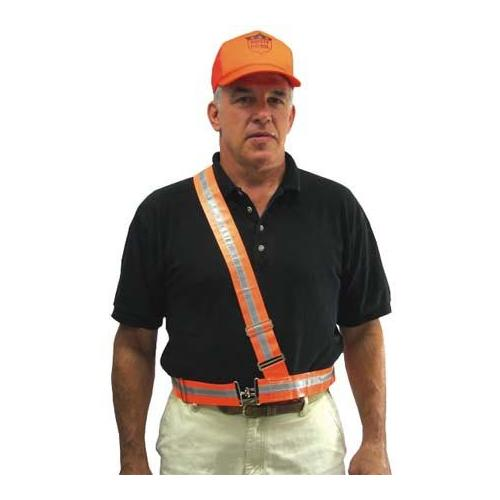 Fluorescent Reflective Belt - Single Strap