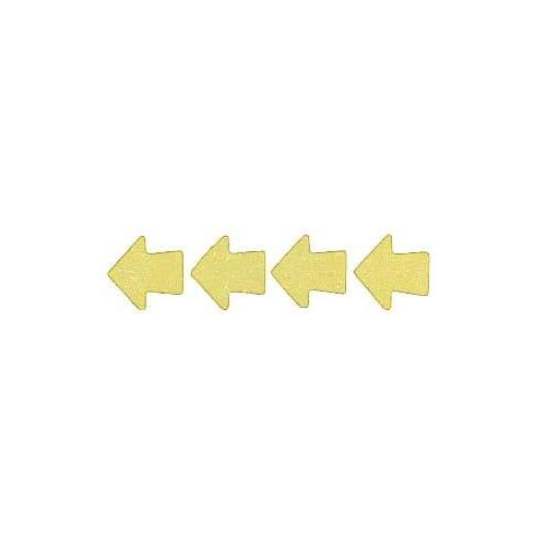 Roll of 100 Adhesive Arrows - Yellow