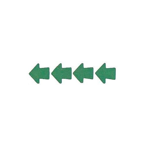 Roll of 100 Adhesive Arrows - Green