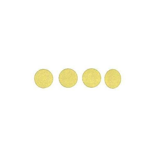 Roll of 100 Adhesive Circles - Yellow