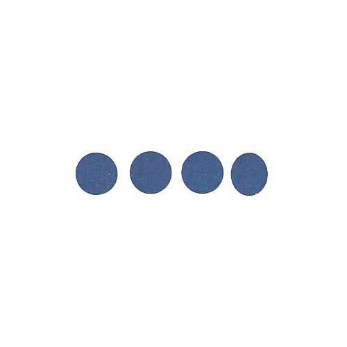 Roll of 100 Adhesive Circles - Dark Blue