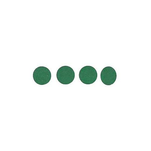 Roll of 100 Adhesive Circles - Green