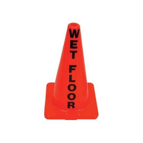 """18"""" Message Cone - Wet Floor"""