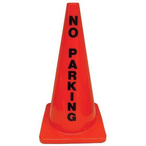 """28"""" Message Cone - No Parking"""