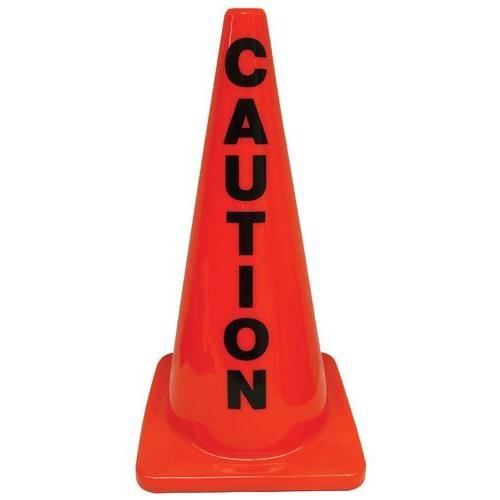 "28"" Message Cone - Caution"